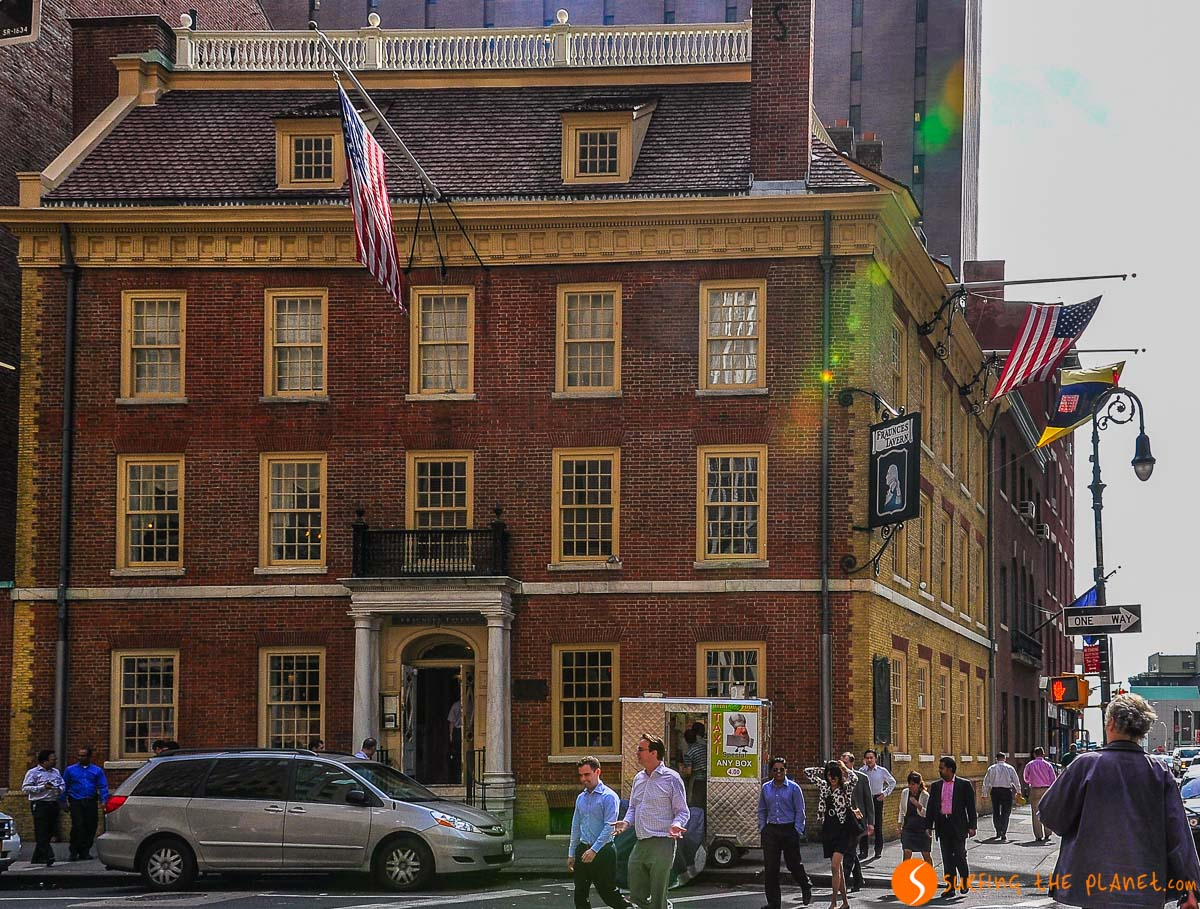 Fraunces Tavern, Lower Manhattan, Nueva York, Estados Unidos