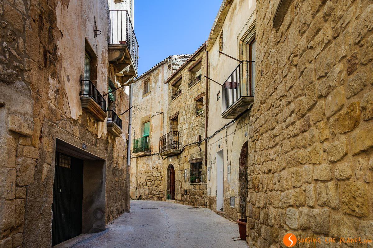 Casco antiguo, Horta de Sant Joan, Tarragona, Cataluña