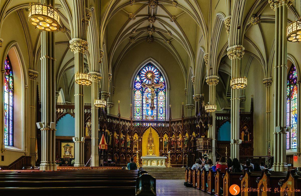 Old St. Patrick's Church, Little Italy, Nueva York, Estados Unidos
