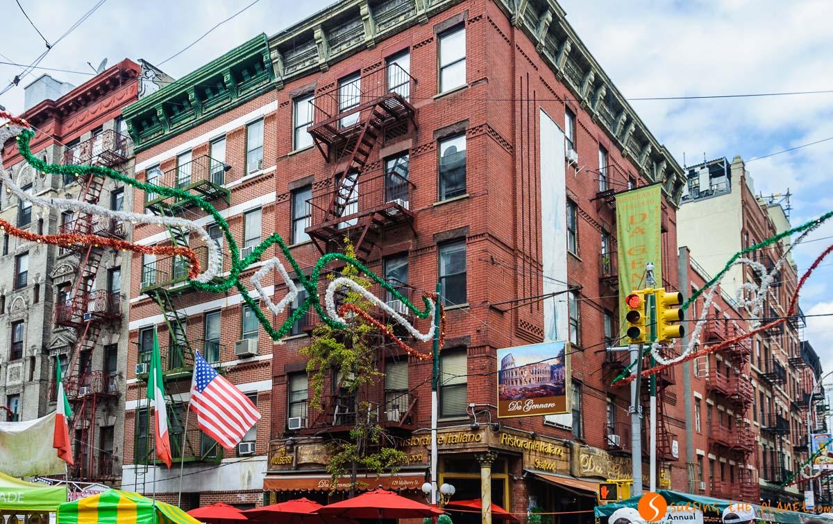 Mulberry Street, Little Italy, Nueva York, Estados Unidos | Qué ver y hacer en Little Italy