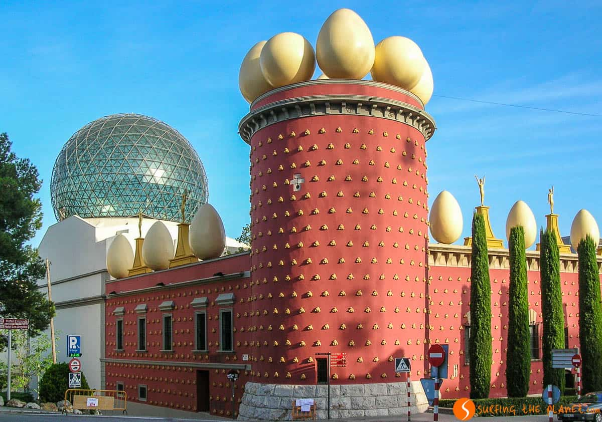 Museo Salvador Dalí, Figueres, Cataluña, España
