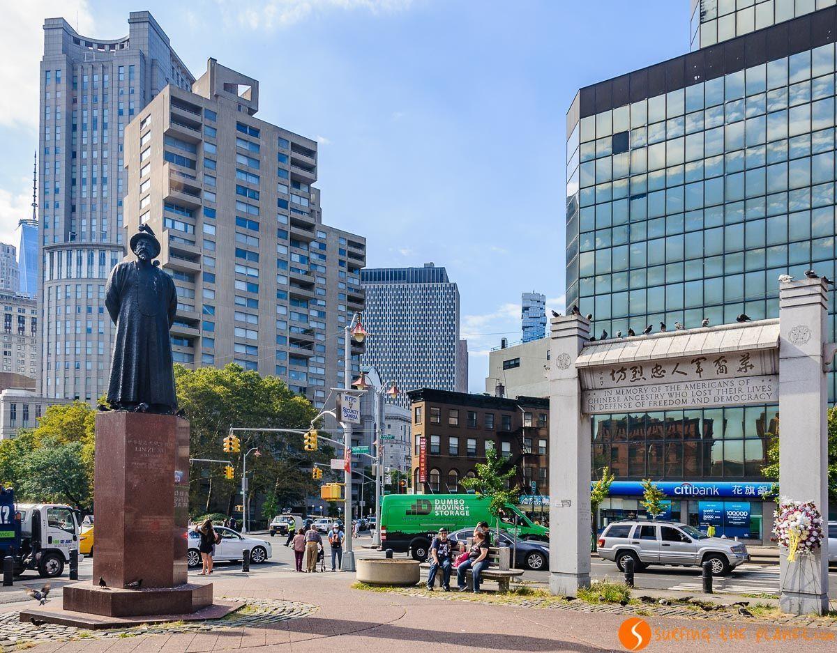 Chatham Square, Chinatown, Nueva York, Estados Unidos
