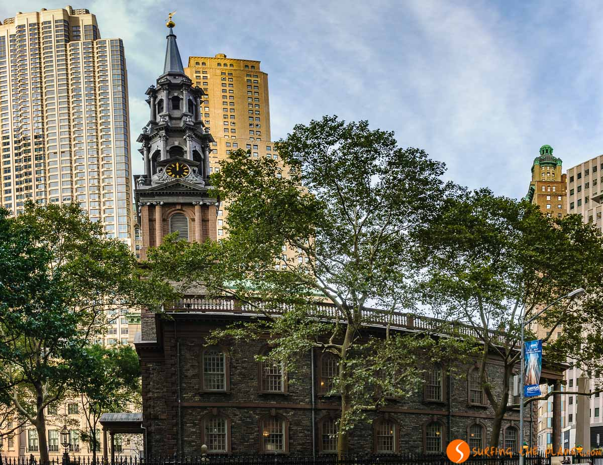 St. Paul's Chapel, Lower Manhattan, Nueva York, Estados Unidos
