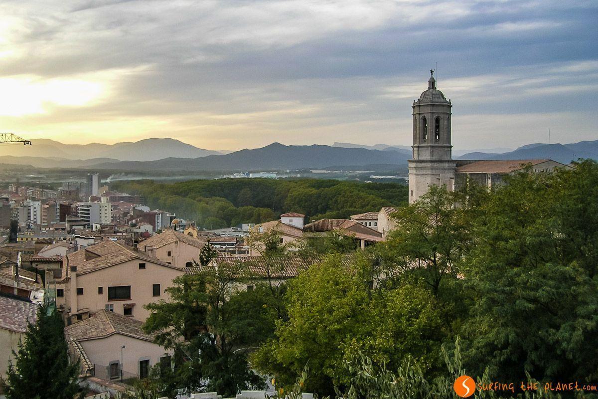 Vista desde Muralla, Girona, Cataluña, España | Qué visitar en Girona en 2 días