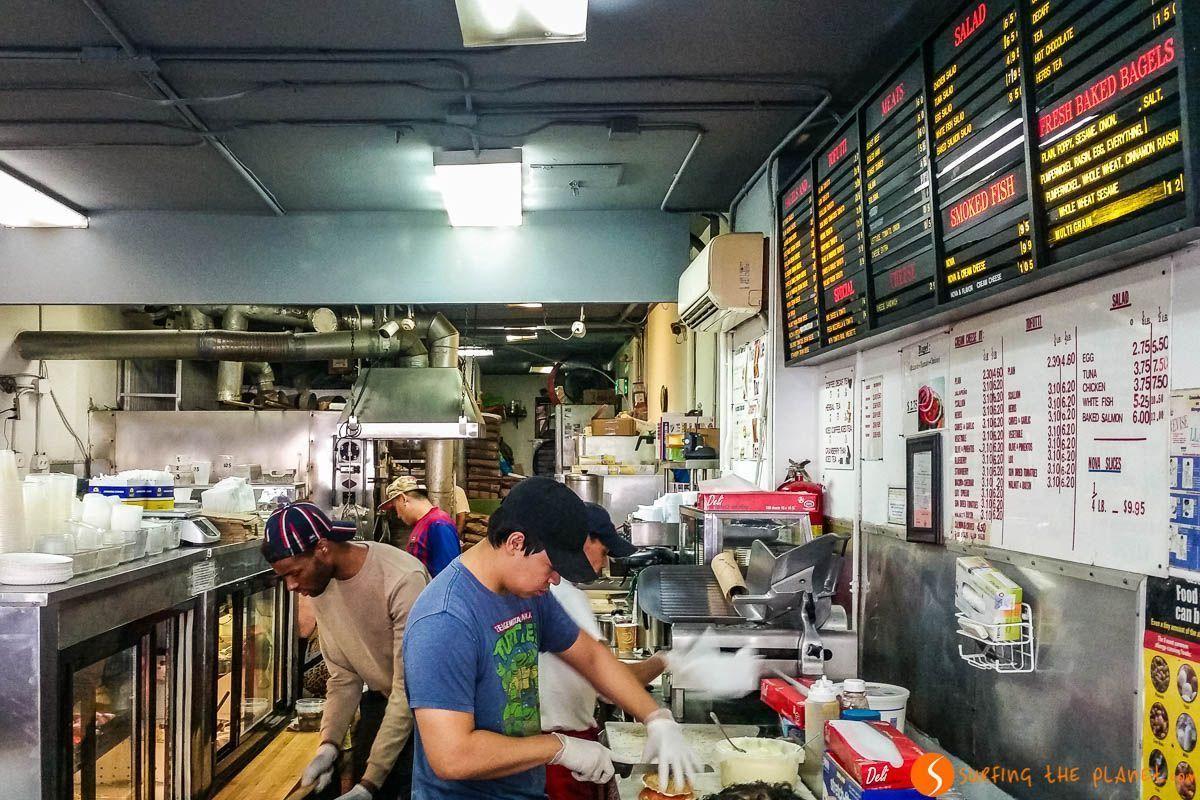 Absolute Bagels, Uptown West Manhattan, Nueva York | Qué visitar en Upper West Side