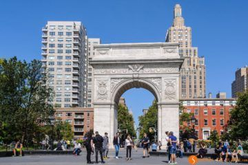 Arco, Washington Square Park, The Village, Nueva York, Estados Unidos