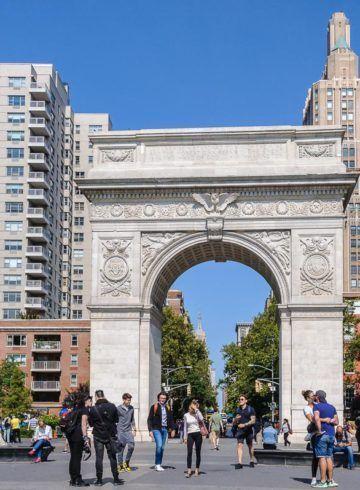 Arco, Washington Square Park, The Village, Nueva York, Estados Unidos
