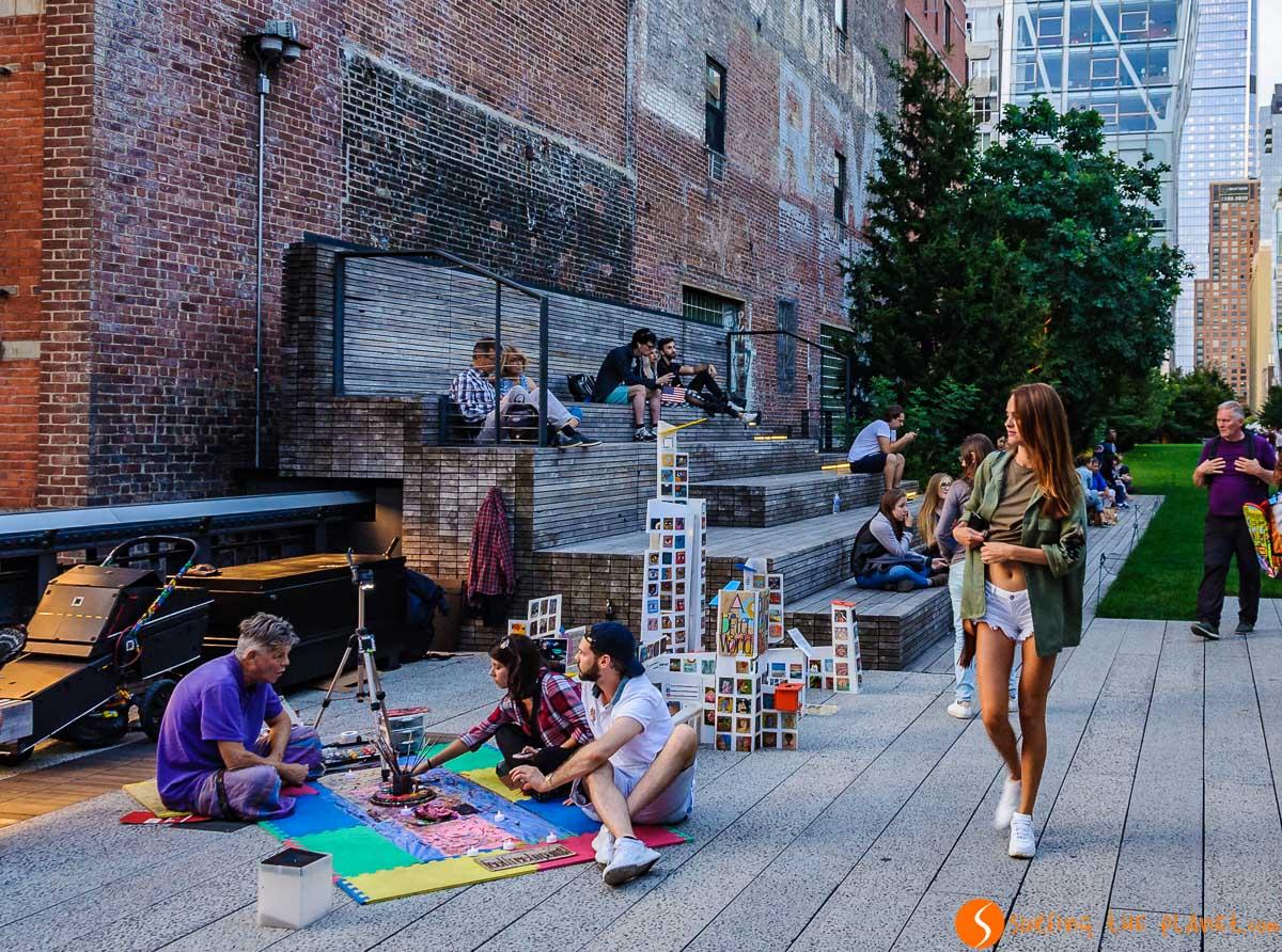 Arte callejero, High Line, Nueva York | Los mejores parques de Nueva York