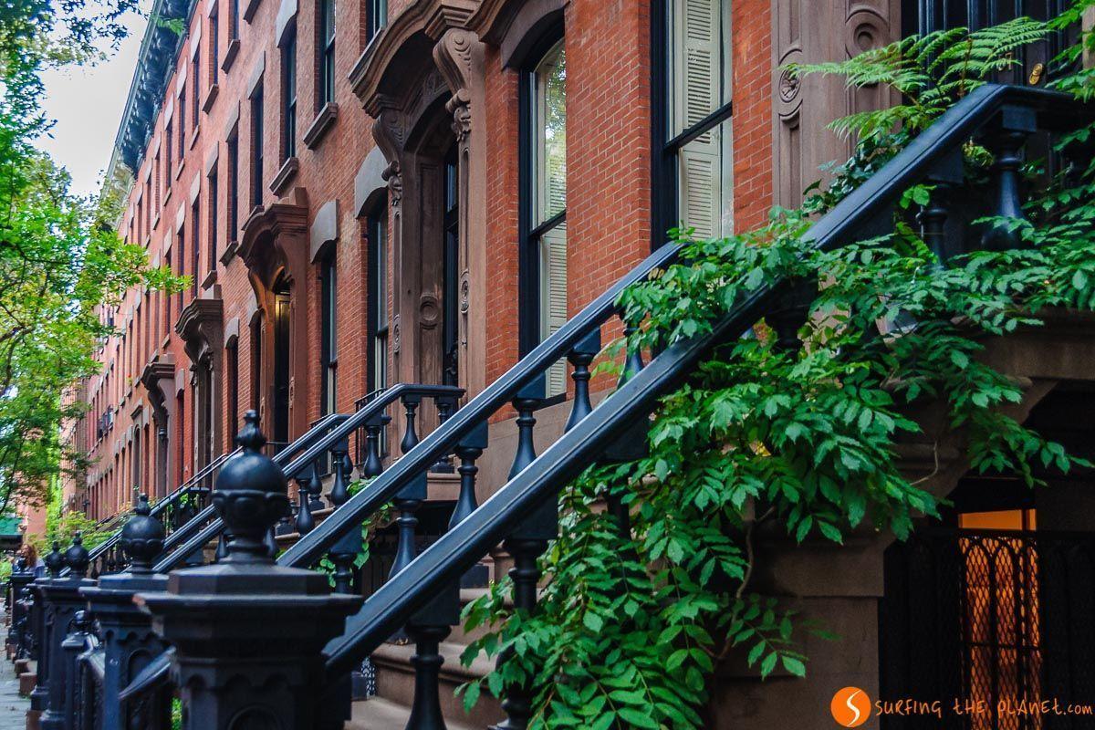 Brownstones, The Village, Nueva York, Estados Unidos | Viaje por la Costa Este de Estados Unidos