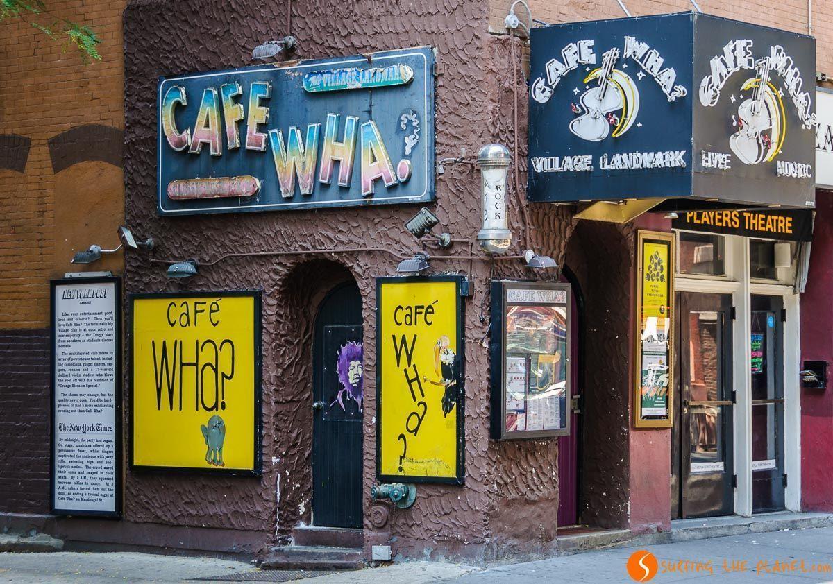 Café Wha, The Village, The Village, Nueva York, Estados Unidos