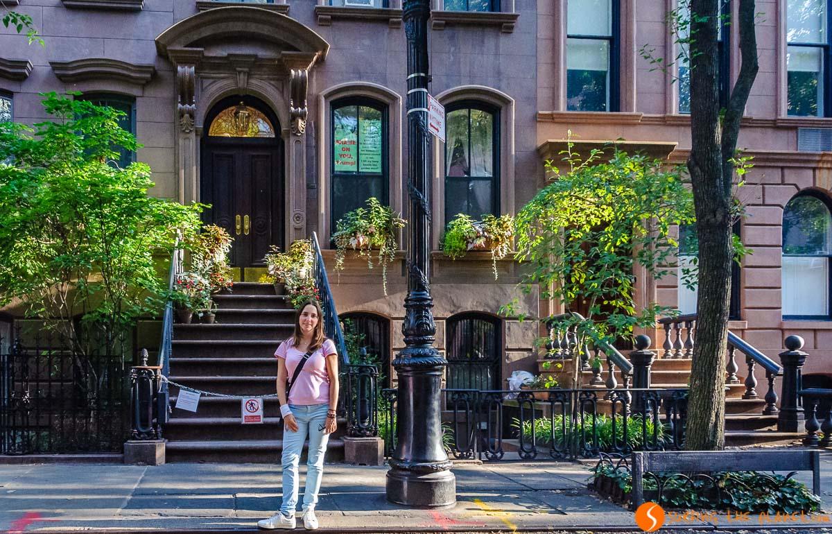 Casa de Carrie, Greenwich Village, Nueva York, Estados Unidos
