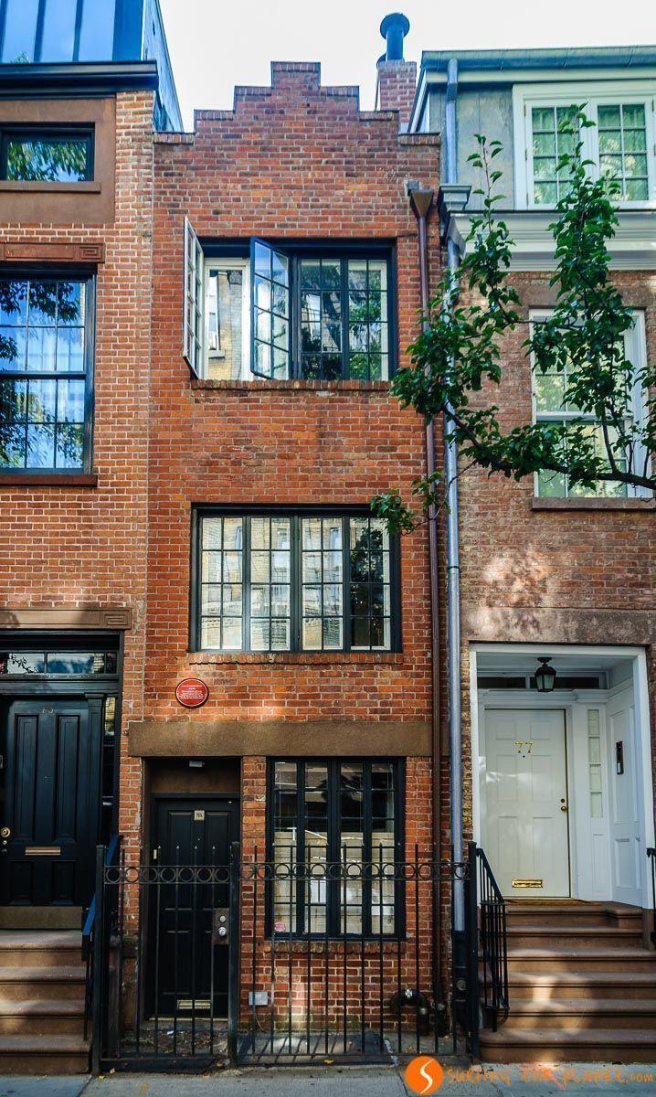 Casa más estrecha, The Village, The Village, Nueva York, Estados Unidos | Qué visitar en Greenwich Village y West Village