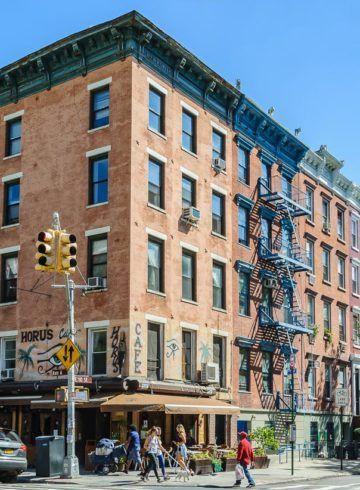 Casas, East Village, Nueva York, Estados Unidos