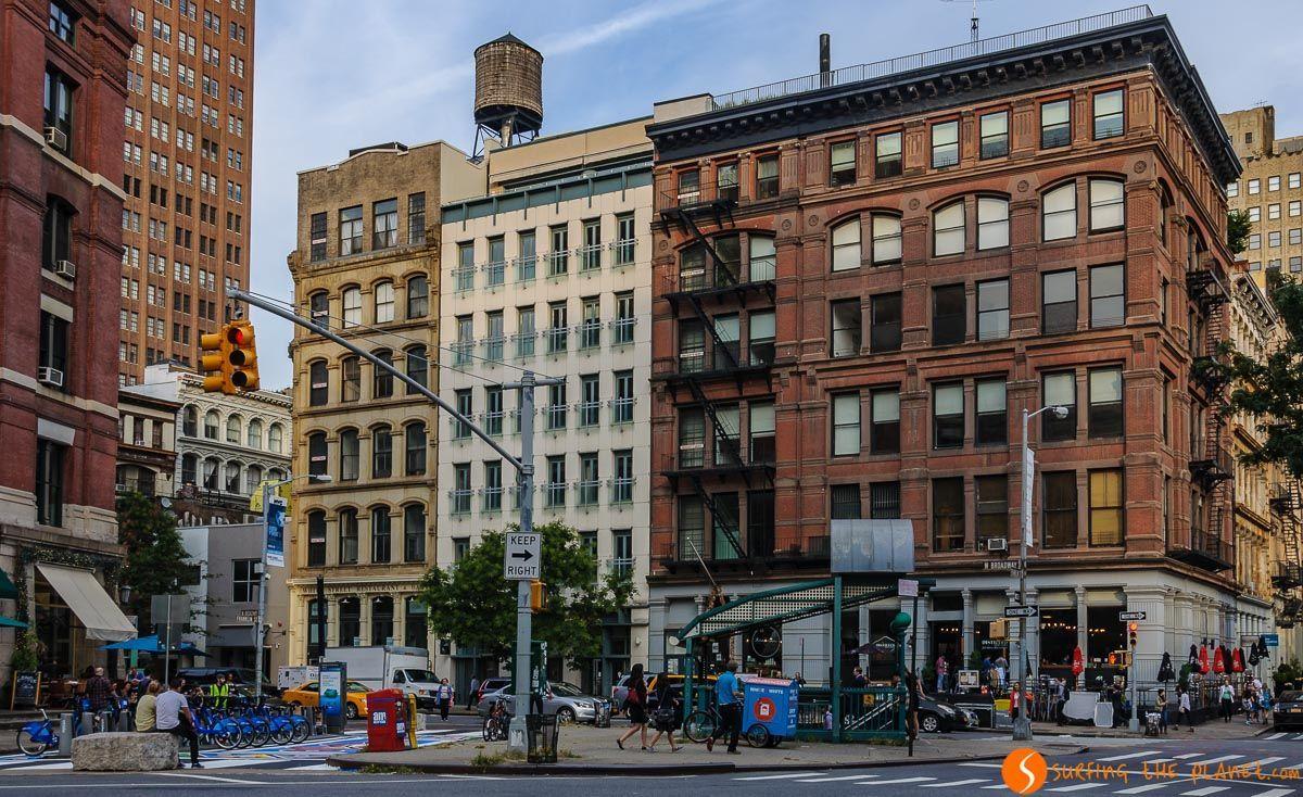 Edificios, Tribeca, Nueva York, Estados Unidos   Barrios de Nueva York entre Lower Manhattan y Midtown
