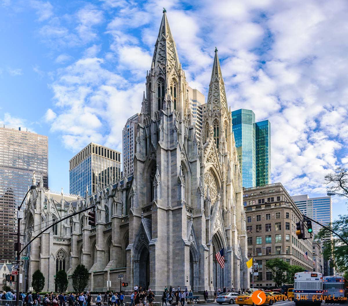Catedral San Patricio, Midtown, Nueva York, Estados Unidos | Qué ver en Midtown Nueva York en 1 día