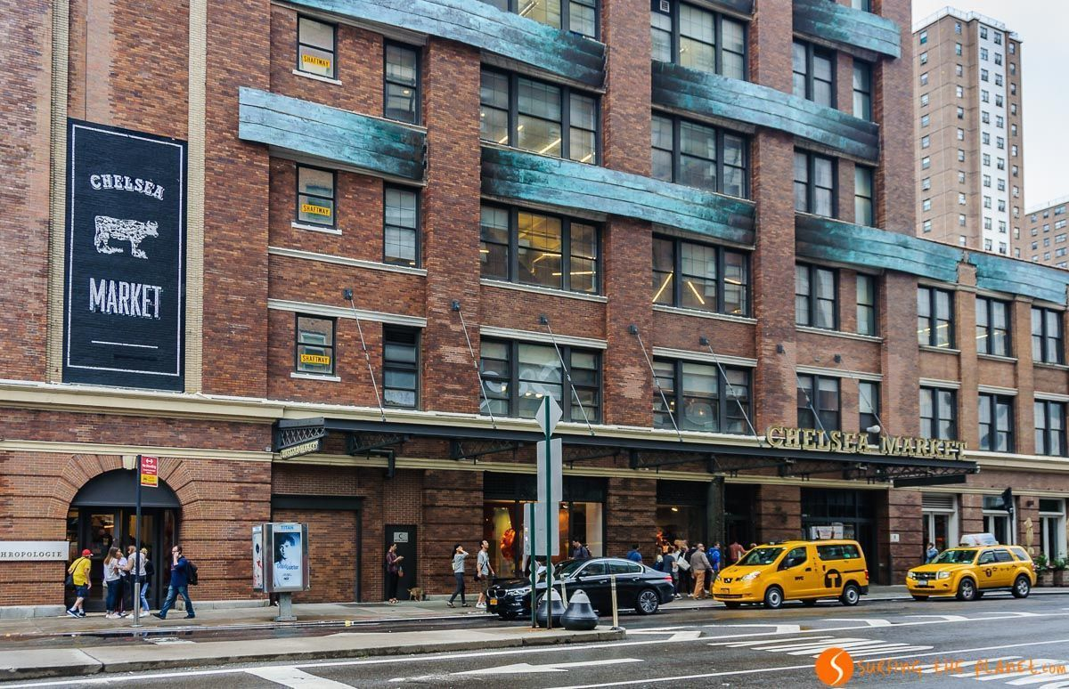 Exterior Chelsea Market, Nueva York, Estados Unidos