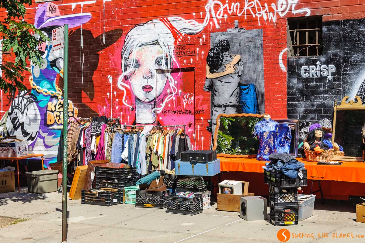 Graffitis, East Village, Nueva York | Viajar a la Costa Este de Estados Unidos en 15 días