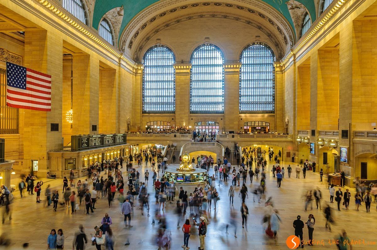 Estación de Gran Central, Midtown, Nueva York, Estados Unidos - 100 imprescindibles que visitar en Nueva York