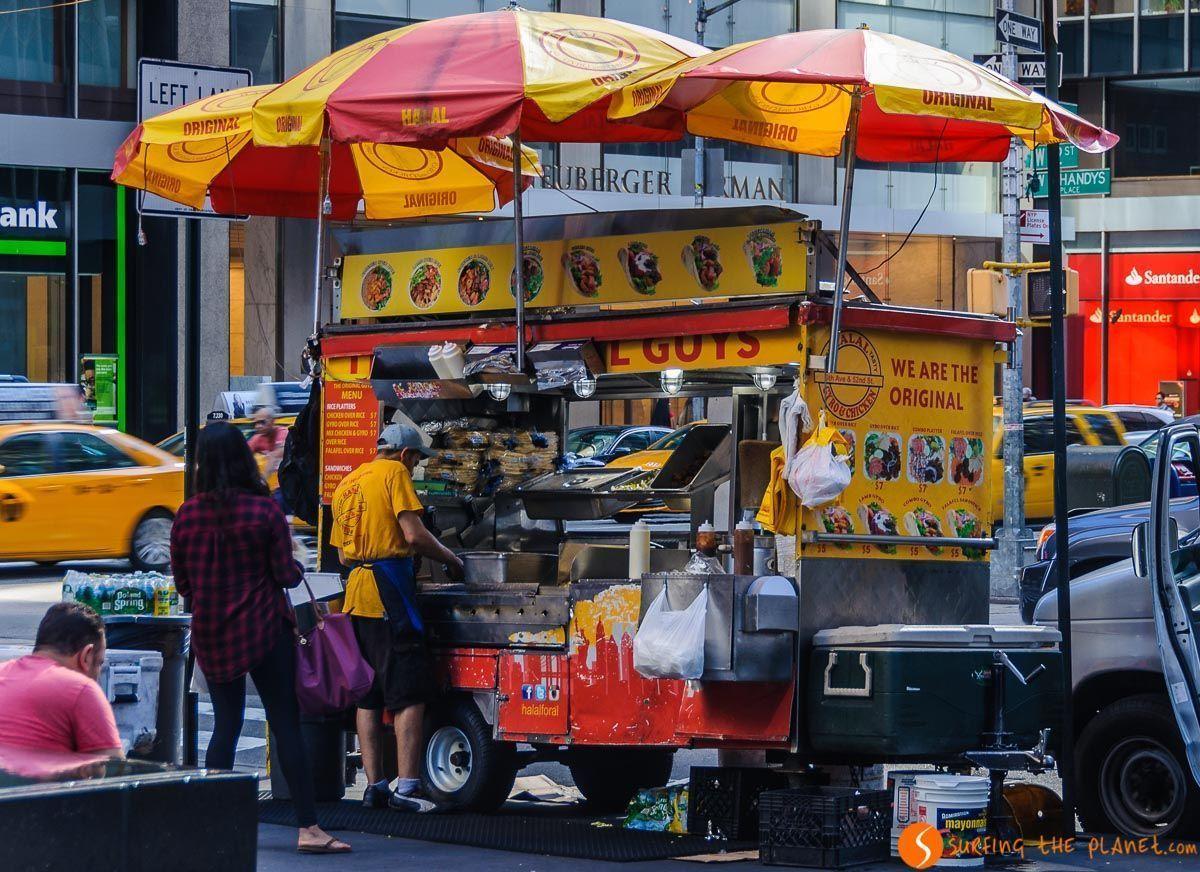 The Halal Guys, Midtown, Nueva York, Estados Unidos