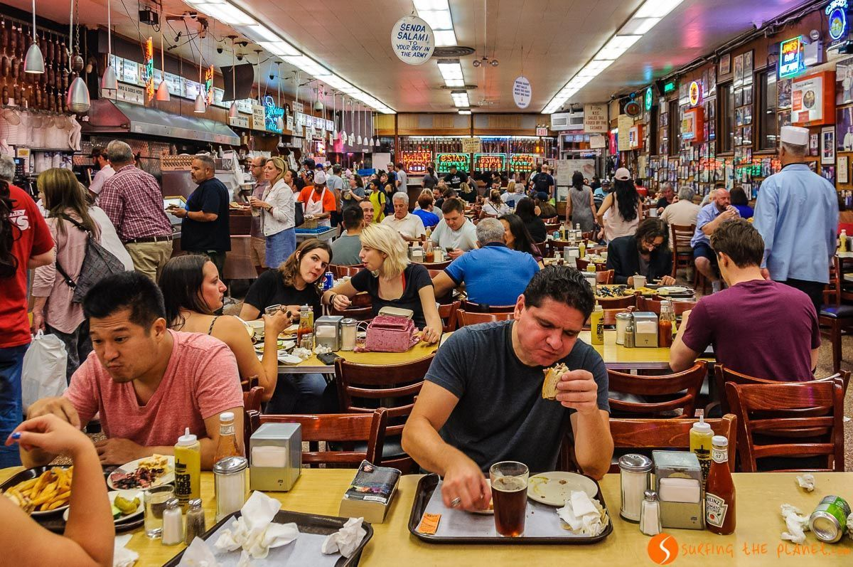 Katz's Delicatessen, Lower East Side, Nueva York, Estados Unidos | 100 Imprescindibles que hacer y ver en Nueva York