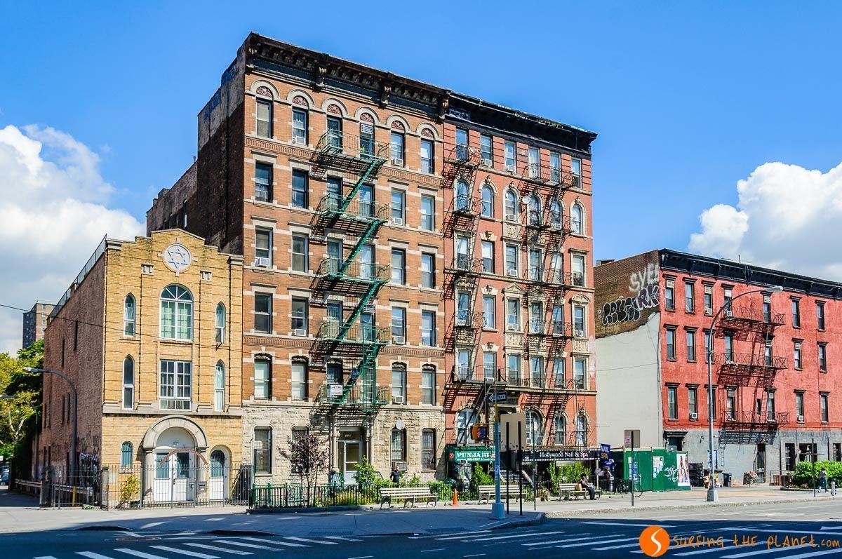 Edificios, Lower East Side, Nueva York, Estados Unidos