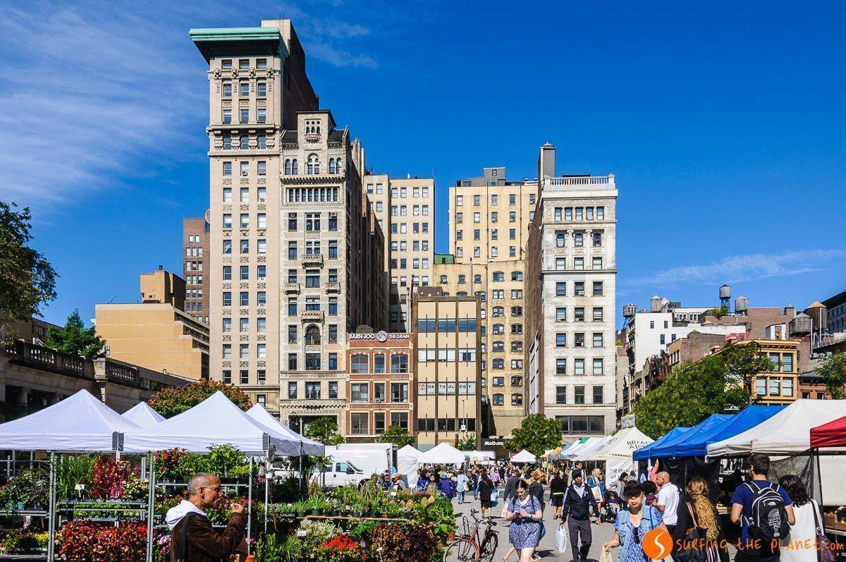 Mercado de Union Square, Midtown, Nueva York, Estados Unidos |Qué ver en Midtown Manhattan