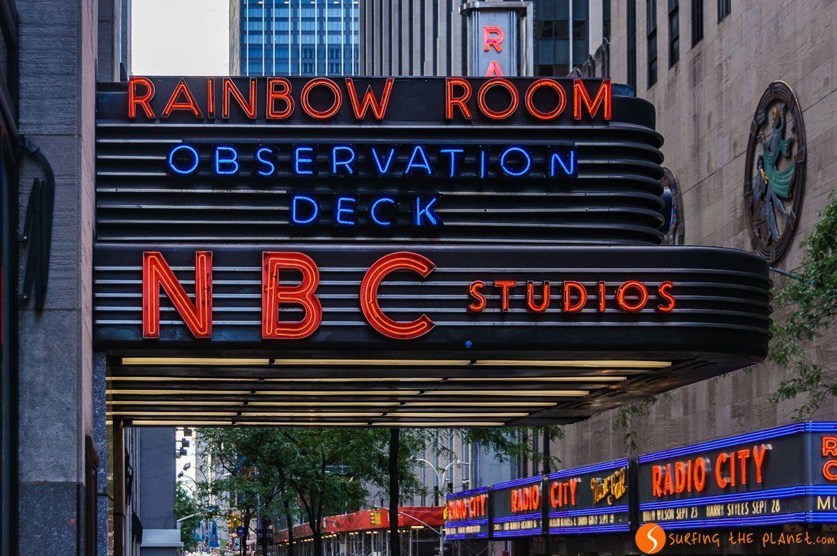NBC Studios & Radio City Hall, Midtown, Nueva York, Estados Unidos | Itinerario por Midtown Manhattan