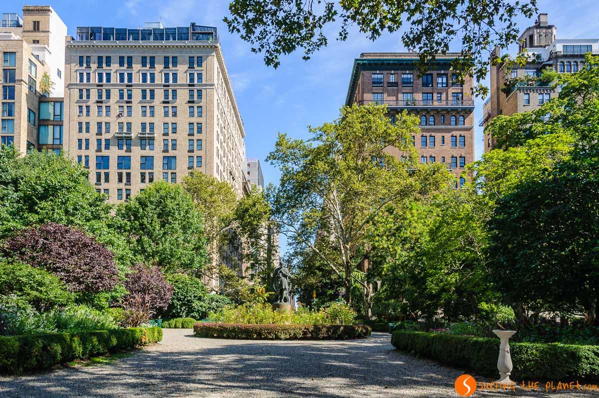 Parque de Gramercy, Midtown, Nueva York, Estados Unidos | Parques emblemáticos de Nueva York