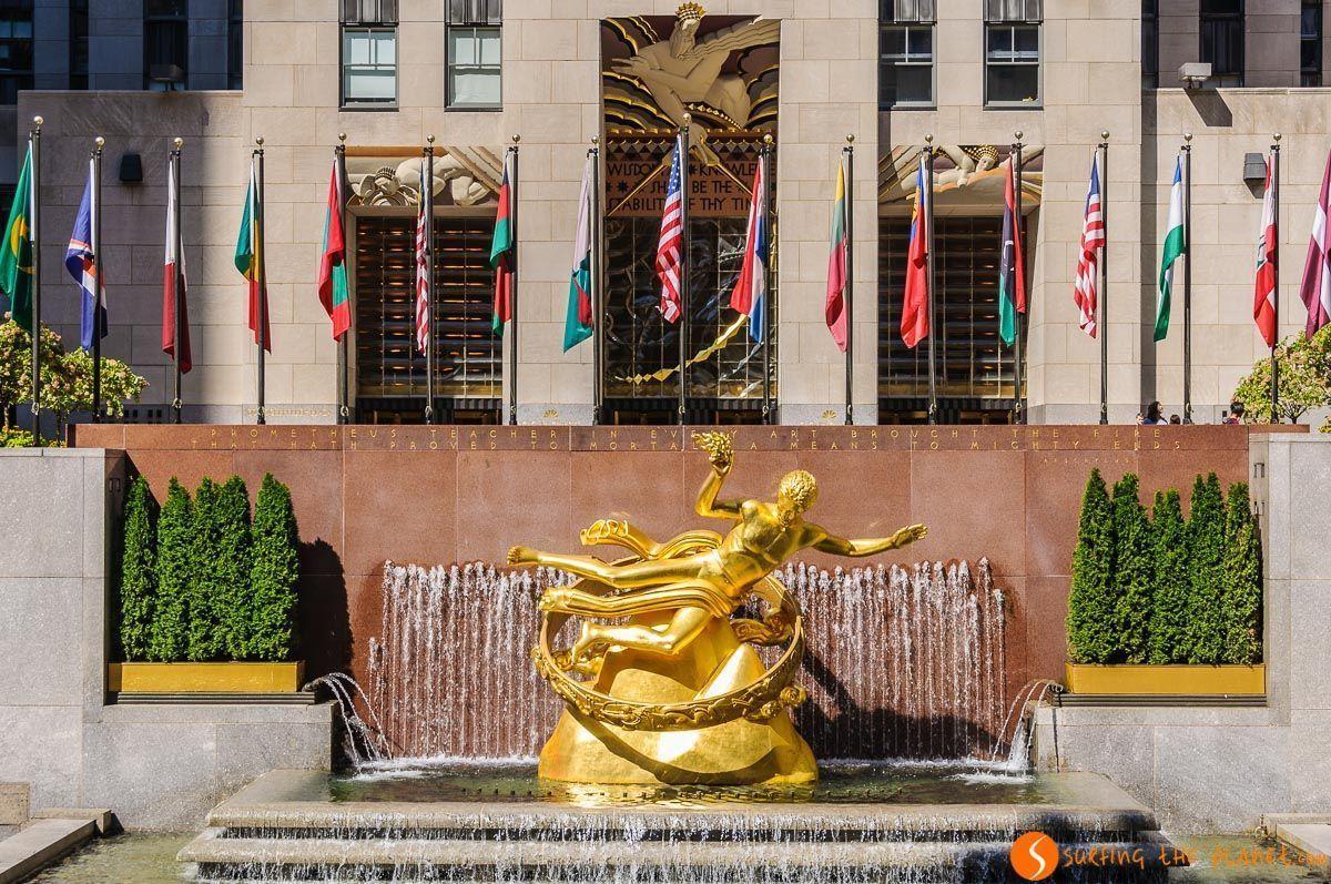 Rockefeller Center, Midtown, Nueva York, Estados Unidos