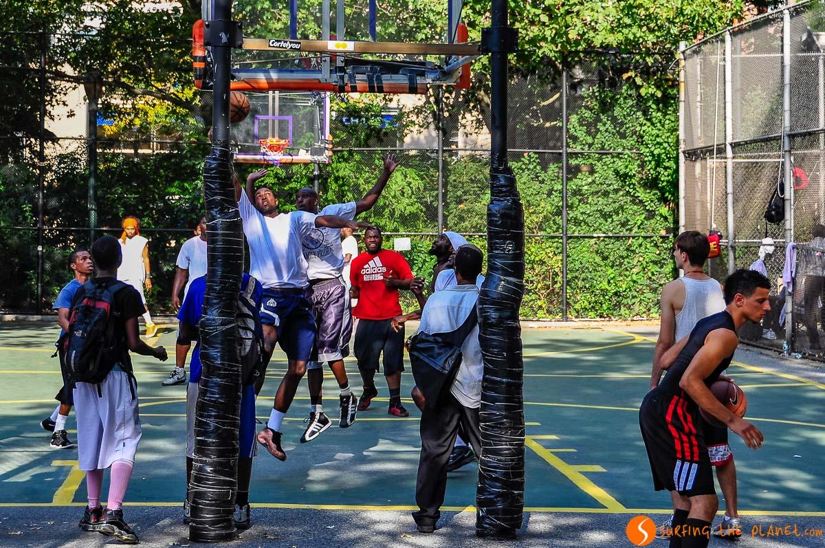 Canchas de basket, The Cage, West Village, Nueva York, Estados Unidos | Qué ver y hacer en The Village