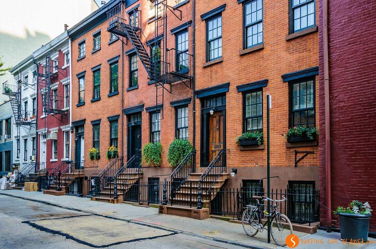 Casas típicas, The Village, Nueva York, Estados Unidos | Qué ver y hacer en Greenwich Village y West Village