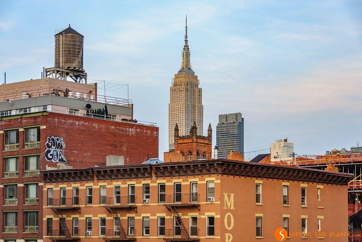 Vista desde High Line, Nueva York, Estados Unidos - 100 cosas que ver y hacer en Nueva York