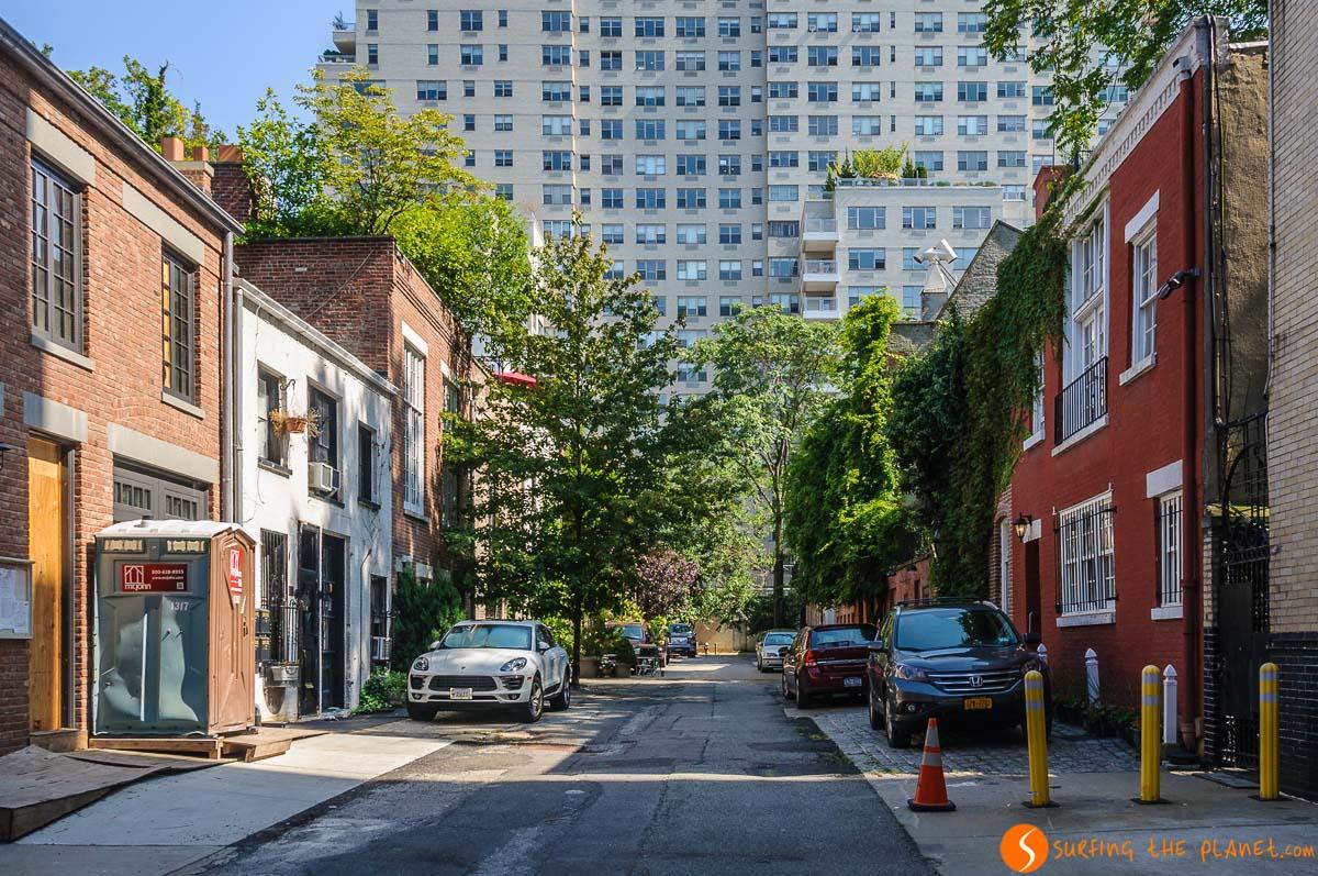 Washington Mews, West Village, Nueva York, Estados Unidos