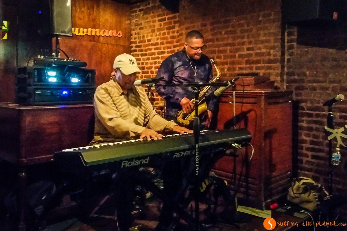 Concierto de Jazz, Harlem, Manhattan, Nueva York, Estados Unidos