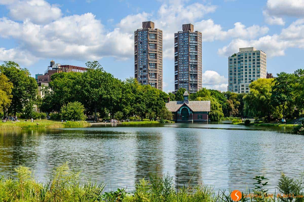 Harlem Meer, Central Park, Manhattan, Nueva York, Estados Unidos | Qué visitar en Central Park