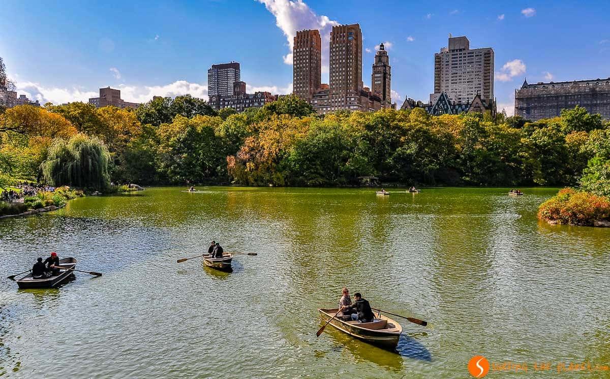 The Lake, Central Park, Manhattan, Nueva York, Estados Unidos | Qué hacer en Central Park y sus alrededores