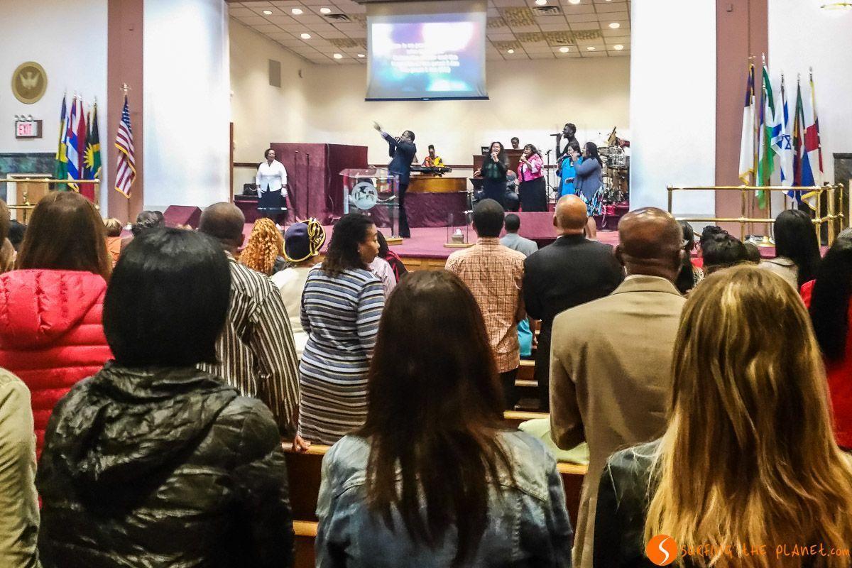 Misa Gospel, Harlem, Manhattan, Nueva York, Estados Unidos | Qué visitar en el Harlem de Nueva York