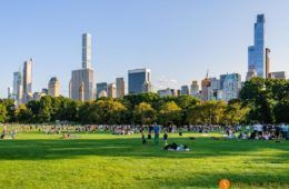 Sheep Meadow, Central Park, Nueva York, Estados Unidos