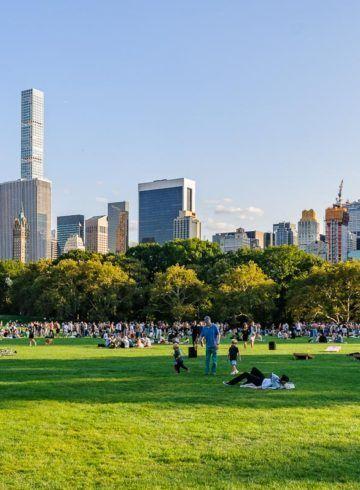 Sheep Meadow, Central Park, Nueva York, Estados Unidos
