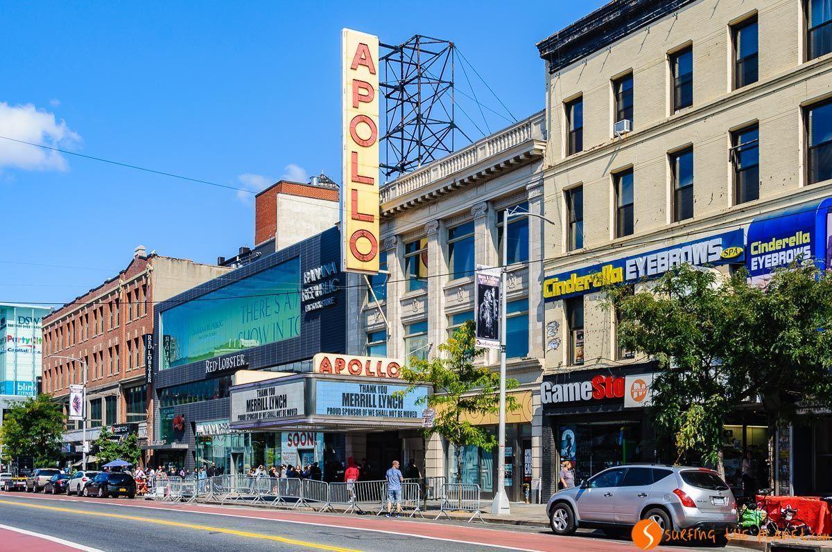 Teatro Apollo, Harlem, Manhattan, Nueva York, Estados Unidos | Qué ver en Harlem en 1 día