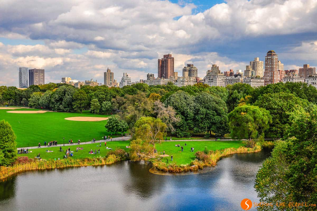 Turtle Pond, Central Park, Manhattan, Nueva York, Estados Unidos | 100 imprescindibles que ver y hacer en Nueva York
