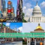 Viaje a la Costa Este de Estados Unidos – Ruta de 15 días por el núcleo histórico del país