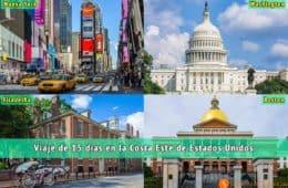 Viajar por la Costa Este de Estados Unidos | Viaje por Nueva York, Boston, Filadelfia y Washington
