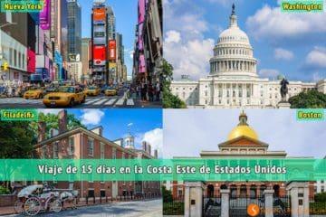 Viajar por la Costa Este de Estados Unidos   Viaje por Nueva York, Boston, Filadelfia y Washington