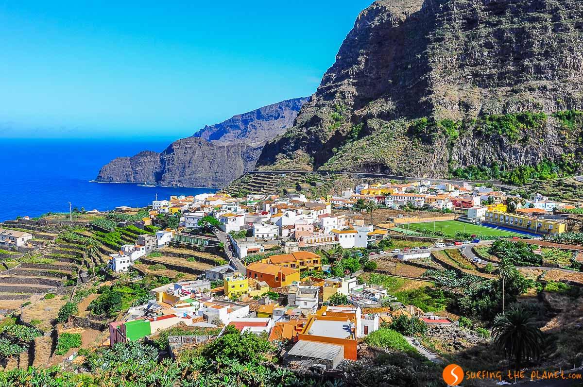 Vistas de Agulo, La Gomera, Canarias, España | Qué ver en La Gomera