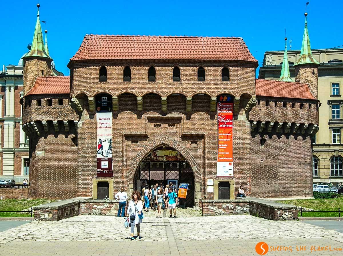 Barbacana, Cracovia, Polonia | Qué visitar en Cracovia en 2 días
