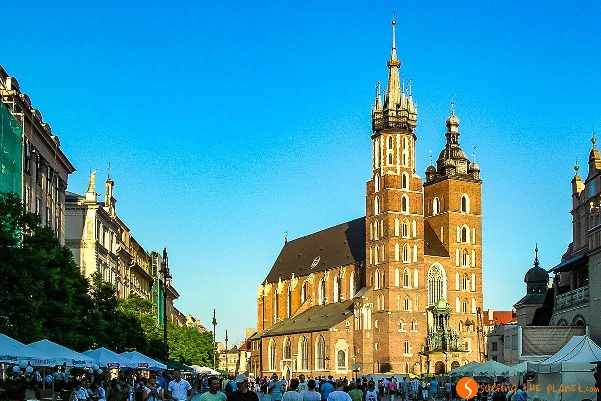 Basílica de Santa María, Cracovia, Polonia | Qué ver en Cracovia en 2 días