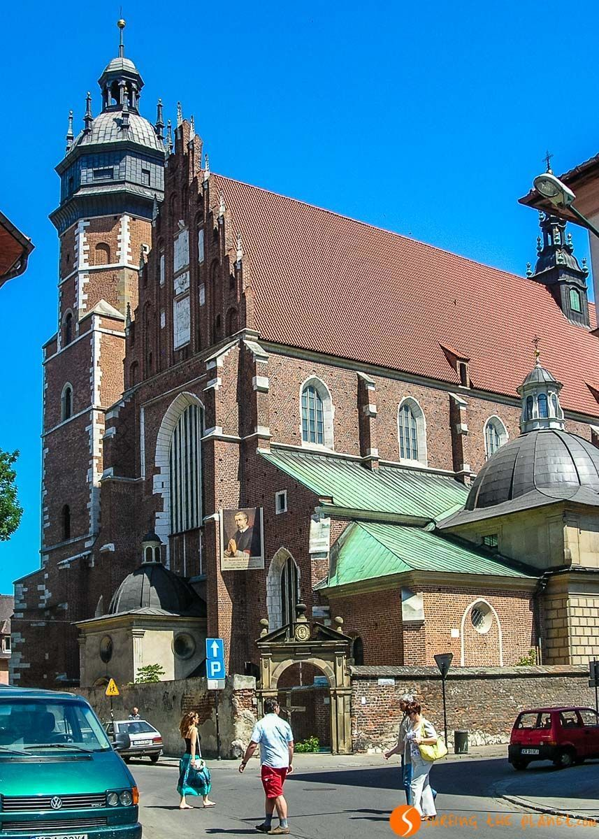 Basílica de Coprus Cristi, Cracovia, Polonia | Qué visitar en Cracovia en 3 días
