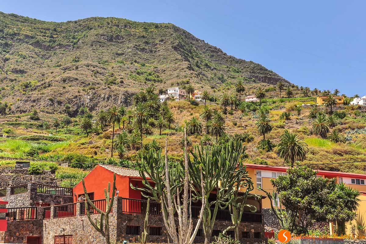 Valle de la Hermigua, La Gomera, Canarias, España