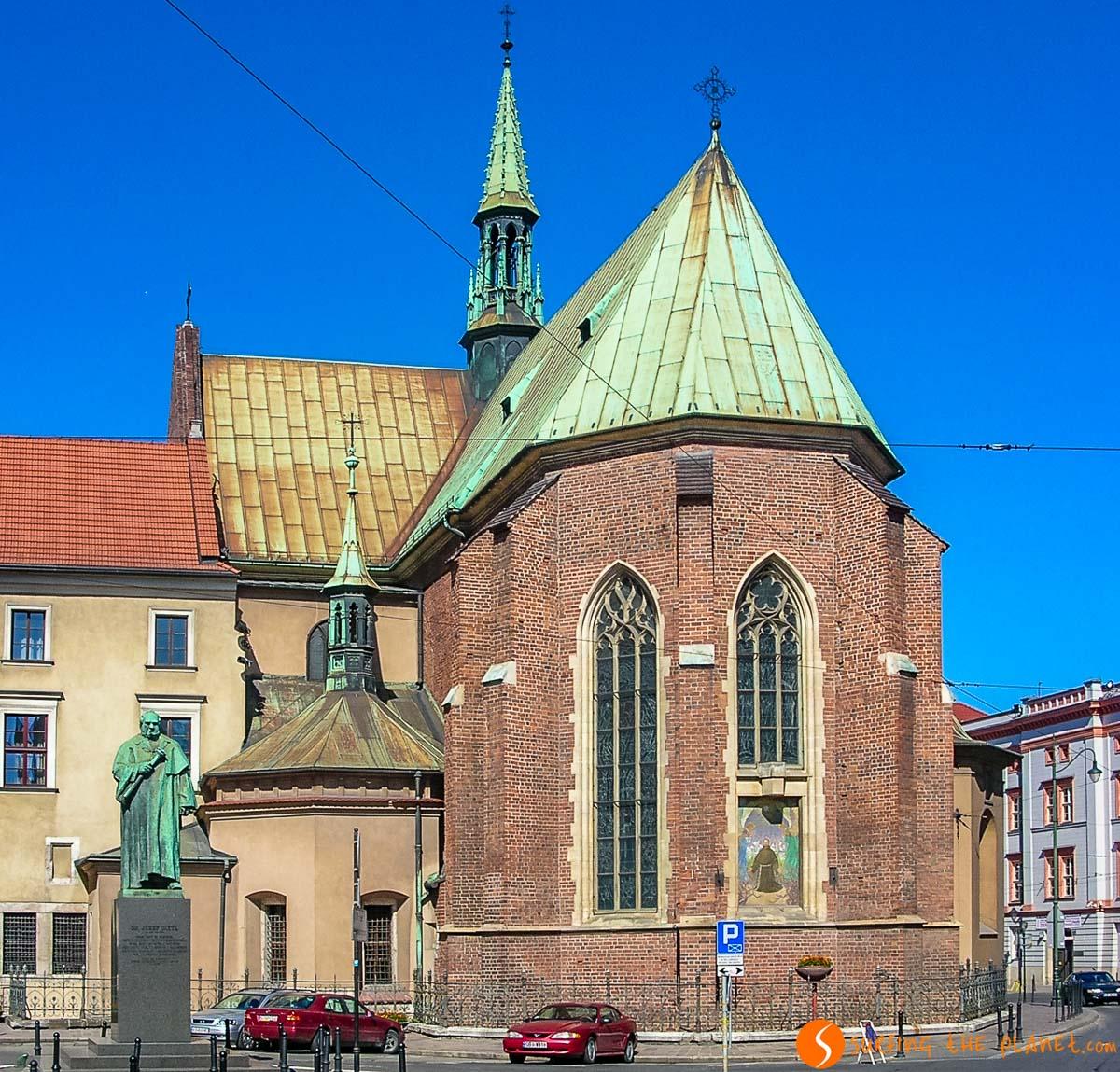 Iglesia de San Francisco de Assisi, Cracovia, Polonia
